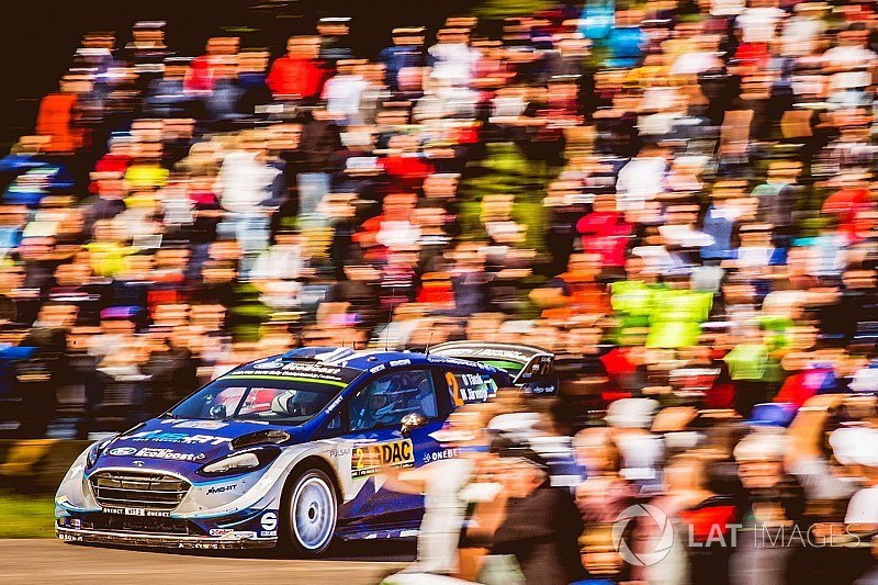 Germany WRC: Tanak wins as Ogier reclaims points lead