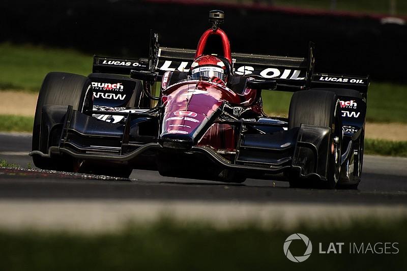 Mikhail Aleshin pierde su asiento con Schmidt Peterson de IndyCar