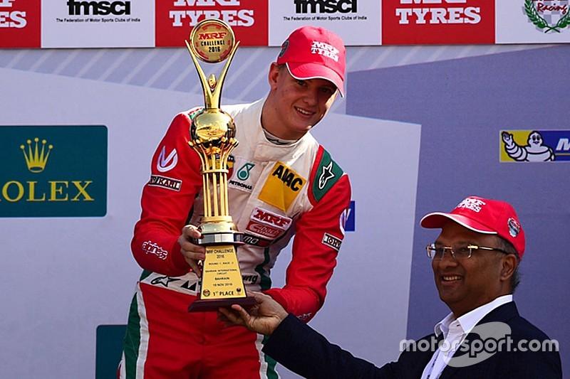 Déjà deux victoires pour Mick Schumacher en MRF