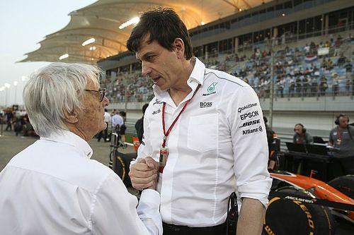 Wolff resta valor a las palabras de Ecclestone sobre Hamilton