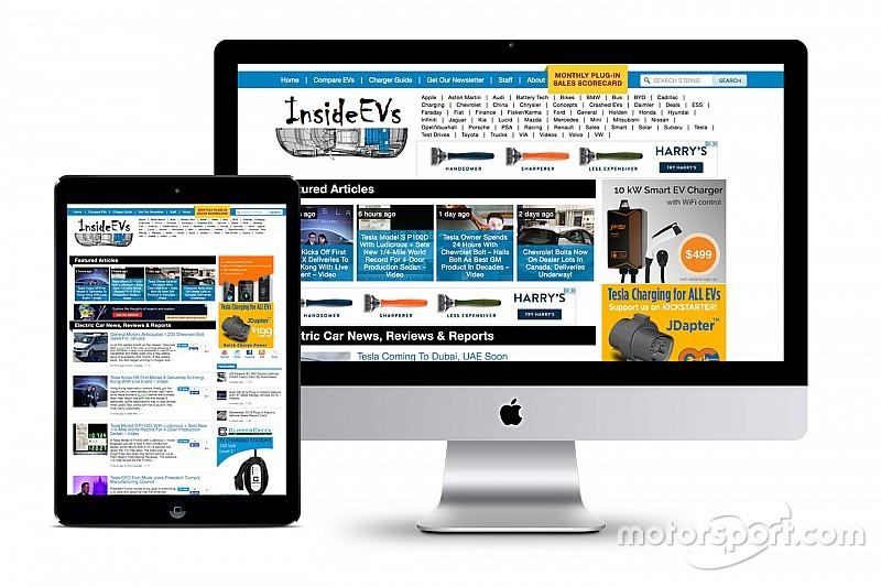 Motor1.com приобрел ведущий сайт об электромобилях InsideEVs.com