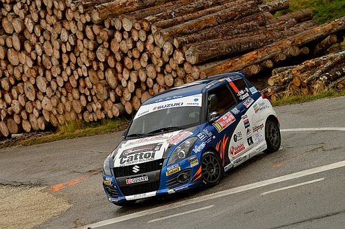 Suzuki Rally Cup: sulle strade di casa si impone il trentino Roberto Pellè