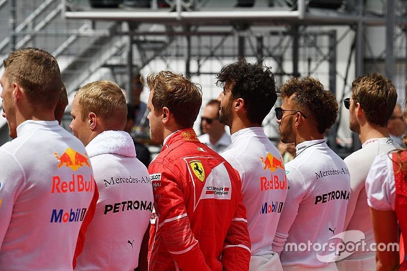 اللائحة الكاملة للمشاركين في بطولة الفورمولا واحد في 2019
