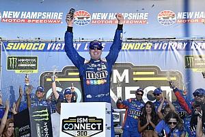NASCAR Sprint Cup Crónica de Carrera Kyle Busch brilla en el  'Big One' y vence en New Hampshire