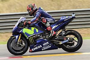 MotoGP Antrenman raporu Aragon MotoGP 4. antrenman: Vinales lider!