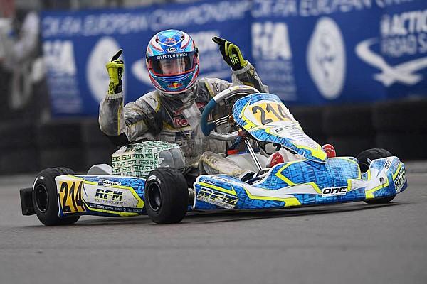 Сын Мика Дуэна протестировал машину Формулы 4