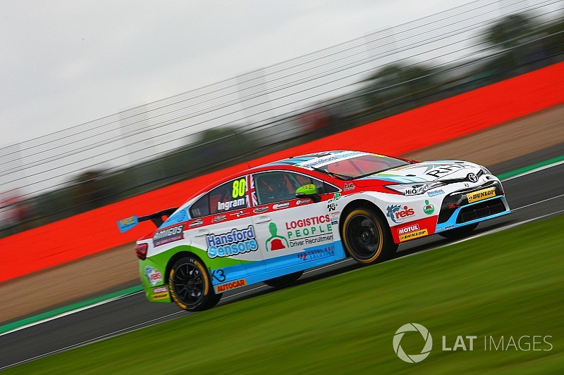 Ingram back with Speedworks Toyota for 2018 BTCC season