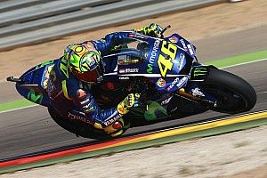 """Rossi expects to """"suffer"""" in Aragon race despite front row"""