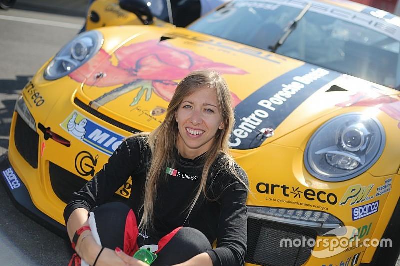 Carrera Cup Italia, Vallelunga: i test fanno ben sperare Francesca Linossi