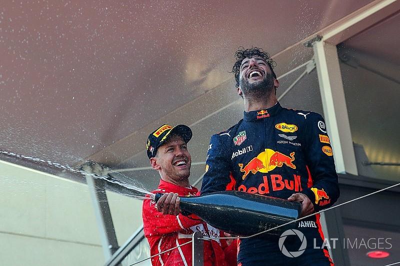 Ricciardo juge improbable de rejoindre Ferrari en 2019
