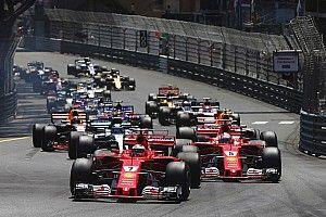 Formel 1 2017 in Monaco: Das Rennergebnis in Bildern