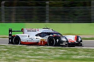 Porsche se mouille avant la pluie à Monza