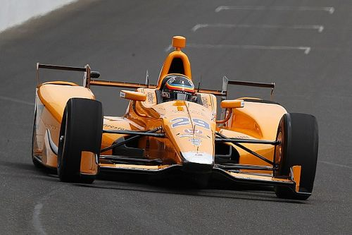 "Alonso says car ""was driving itself"" during Indy test"