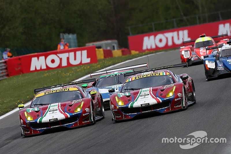 "Bird relishes ""intense"" five-hour Spa Ferrari fight"