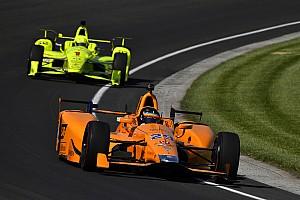 IndyCar Réactions Alonso satisfait malgré une