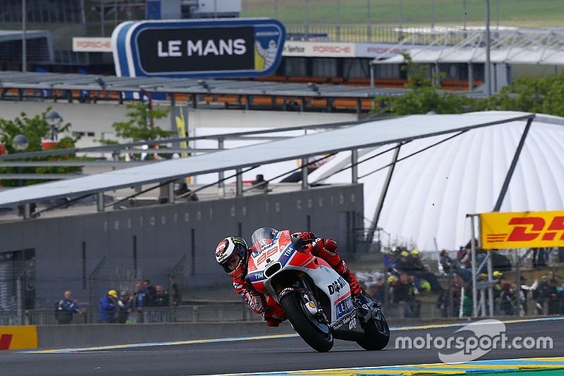 MotoGP 2017 in Le Mans: Ergebnis, 2. Training