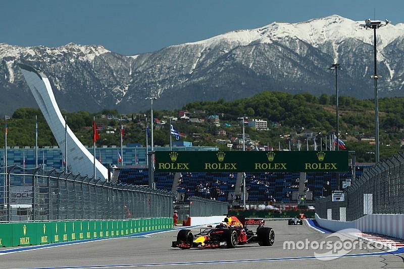 """【F1】リカルド、現実的な目標は5位。「""""トップ2チーム""""が速すぎる」"""