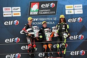 CIV PreMoto3 Gara Alberto Surra si impone in volata in Gara 2 ad Imola