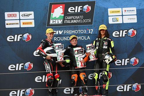 Alberto Surra si impone in volata in Gara 2 ad Imola
