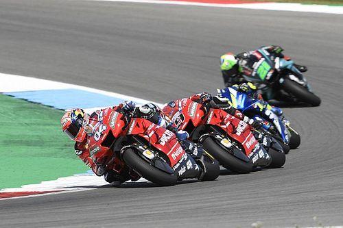 """Dovizioso: """"No solo Márquez será rival, también las Yamaha y las Suzuki"""""""