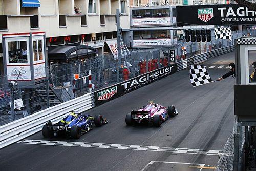 Юбер выиграл первую гонку в Ф2, едва не упустив победу на последних метрах