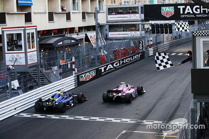 Hubert aguanta la presión y vence en Mónaco