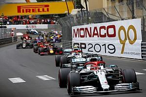 F1モナコGP決勝速報:ハミルトン辛勝。レッドブル・ホンダのフェルスタッペン4位