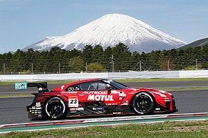 23号車ニスモが首位発進。GT-RとLC500が上位を分ける スーパーGT富士公式練習