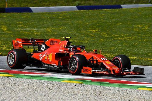 Leclerc queda adelante antes de la clasificación en Austria
