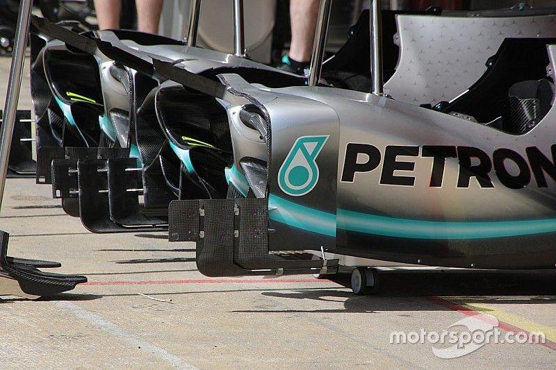 Les évolutions de Mercedes à Barcelone dévoilées