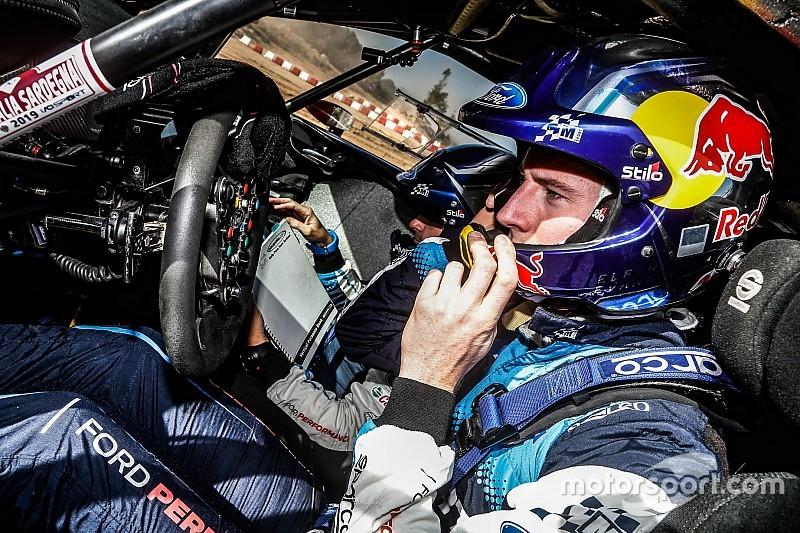 Evans es baja para el Rally de Finlandia por lesión