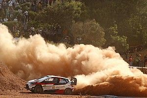 Italy WRC: Latvala, Tanak make it Toyota 1-2, Ogier retires
