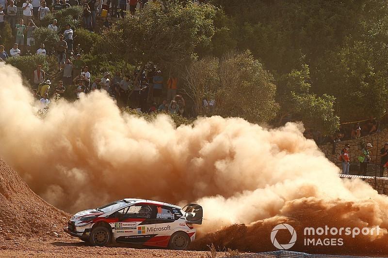 Italy WRC: Latvala, Tanak make it Toyota 1-2, Ogier retires