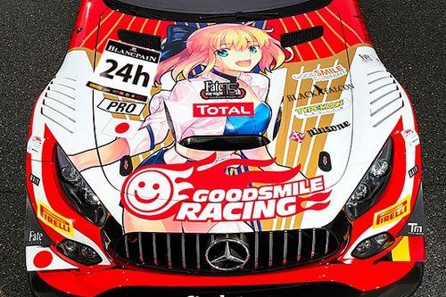 Японская команда представила машину с мультяшным дизайном для гонки в Спа