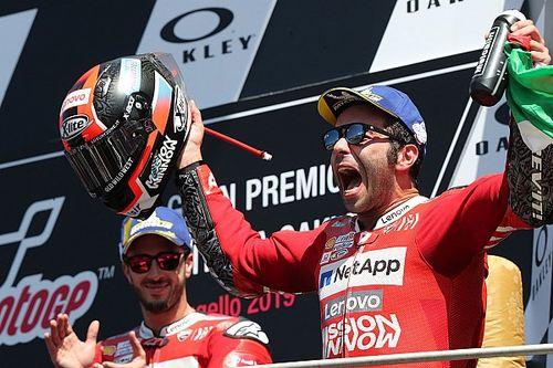 """Petrucci """"so sorry"""" to hamper Dovizioso in race-winning move"""