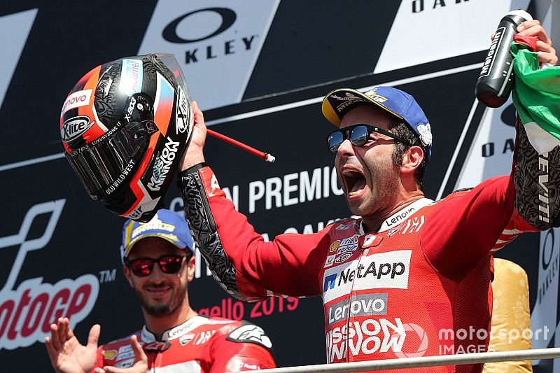 "Petrucci ""so sorry"" to hamper Dovizioso in race-winning move"