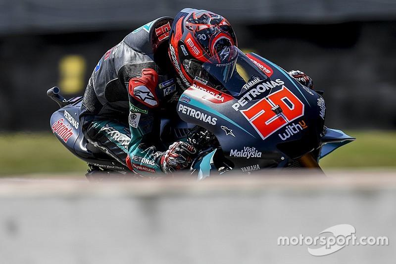 MotoGP, Assen, Libere 4: Quartararo e Vinales volano, Rossi solo 18esimo