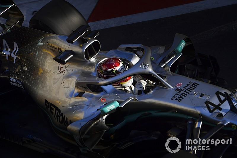 "Hamilton: Mercedes ""unlikely"" to close Ferrari gap overnight"