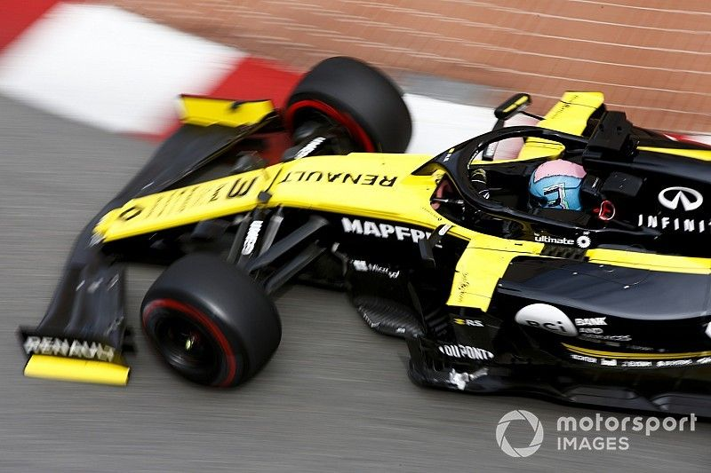 Renault was running reduced engine power due to conrod issue