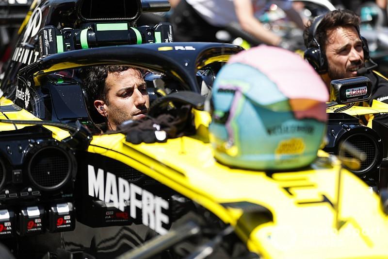 Ricciardo dice que Renault está creciendo en su ritmo