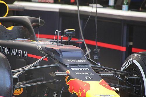 Red Bull, RB15'in ön tarafına Mercedes tarzı küçük kanatçıklar ekledi