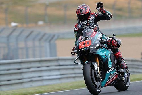 Куартараро опередил Маркеса на разминке MotoGP во Франции