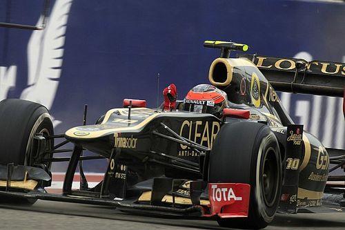 C'était un 22 avril: Grosjean sur son premier podium