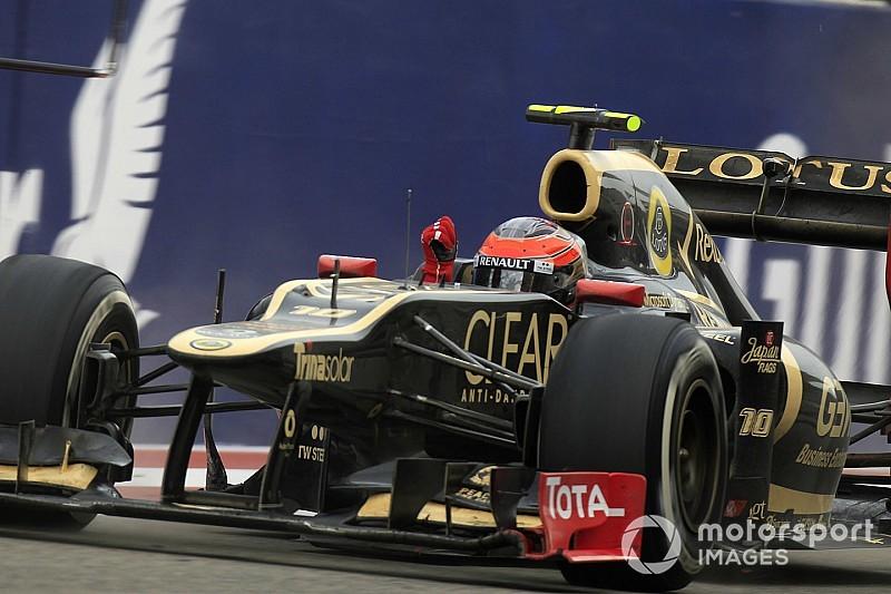 C'était un 22 avril : le premier podium de Grosjean
