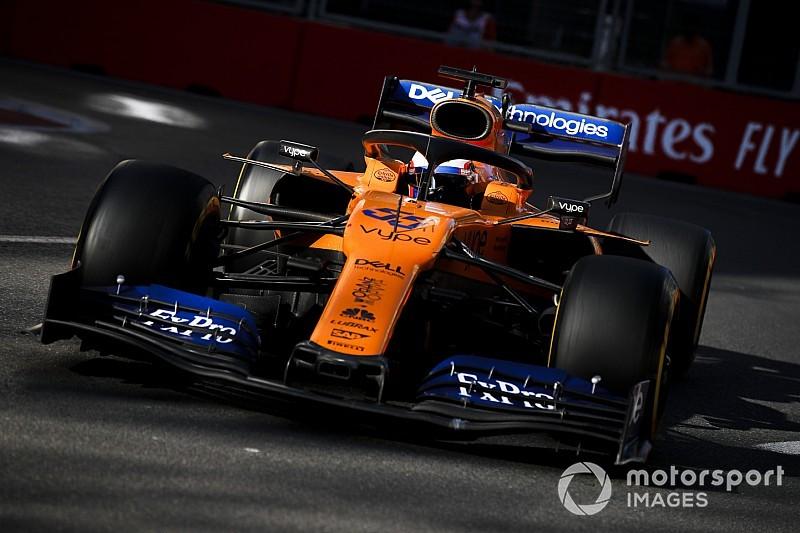 Sainz: McLaren'ın kıyas noktası orta grup olmamalı