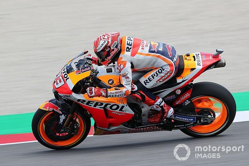 MotoGP, Barcellona, Libere 1: Marquez davanti a Quartararo, Dovizioso quarto