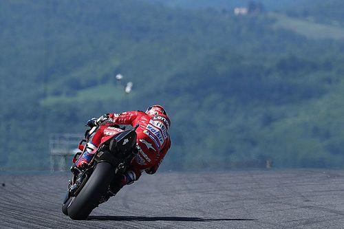 Dovizioso bate el récord absoluto de velocidad punta en MotoGP