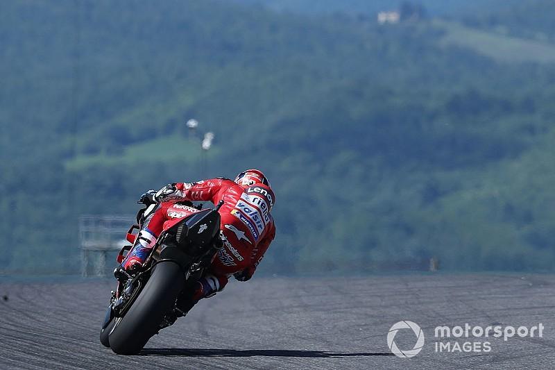 Dovizioso bate el récord de velocidad punta en MotoGP