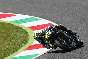 Rossi lebih lambat dari tahun lalu