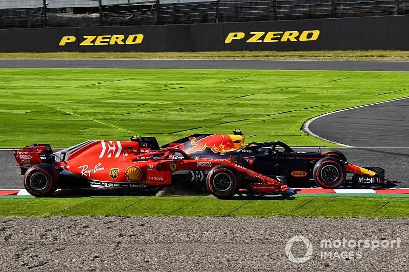 """Raikkonen mild over Verstappen: """"Hij deed het niet met opzet"""""""